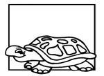 coloriage enfant Tortues